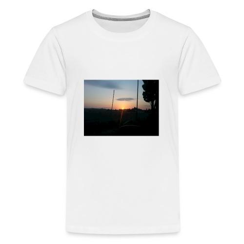 sol de noche - Camiseta premium adolescente