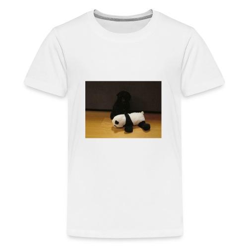 Maggie och pandan - Premium-T-shirt tonåring
