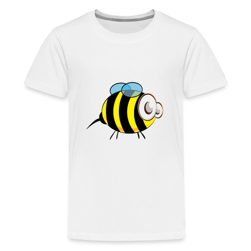 Beeliver in Bees - Teenage Premium T-Shirt