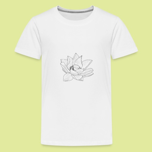 FlowerBlüte - Teenager Premium T-Shirt