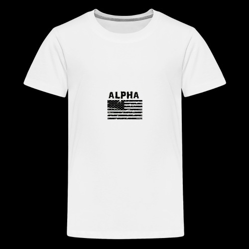 ALPHA - Teenager Premium T-Shirt