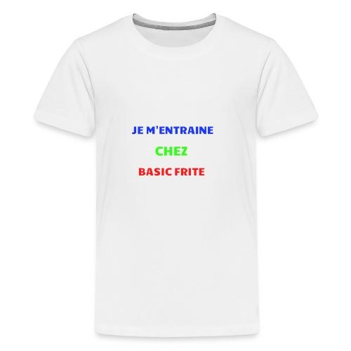 Basic Frite - T-shirt Premium Ado