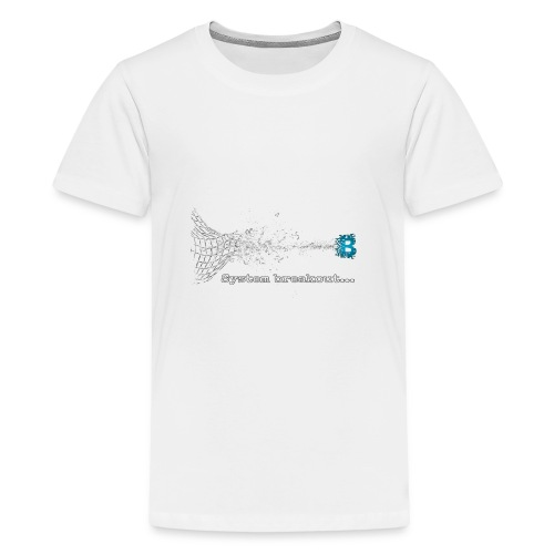 Breakout Blockchain - Teenager Premium T-Shirt