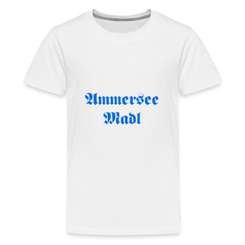 Ammersee Madl - Teenager Premium T-Shirt