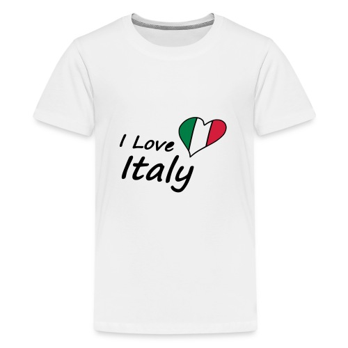 I Love Italy - Teenager Premium T-Shirt