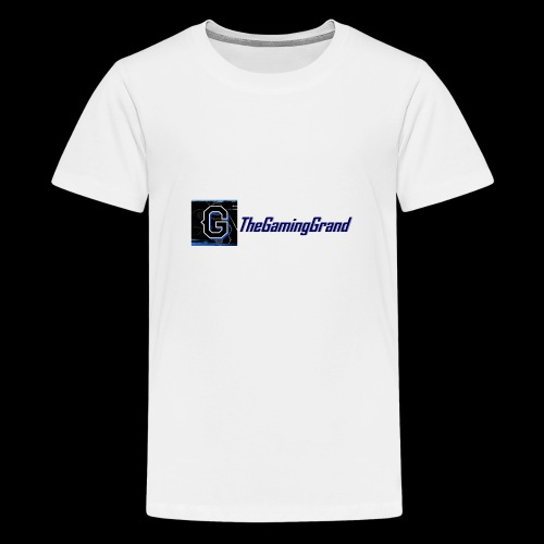 grand picture for white - Teenage Premium T-Shirt