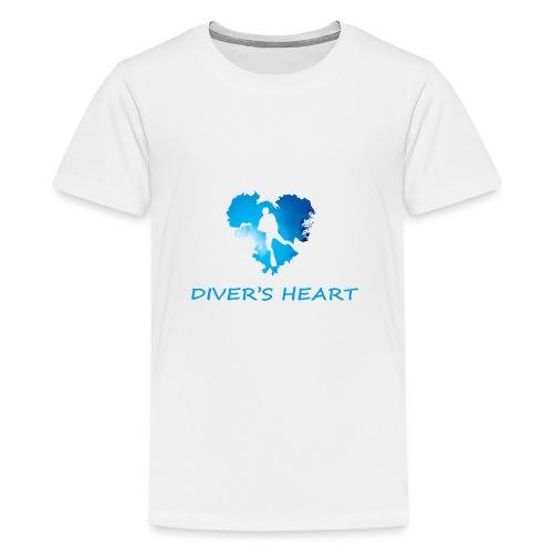 serce-png - Koszulka młodzieżowa Premium