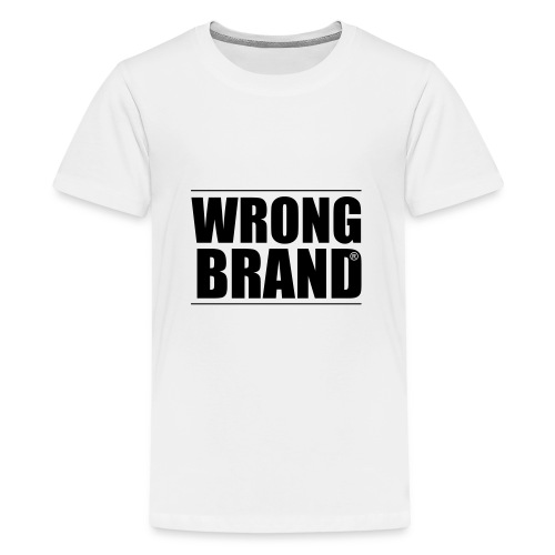 Wrong Brand: the ultimate brand parody - Teenage Premium T-Shirt