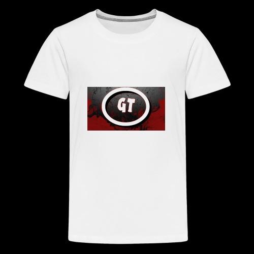 New youtube logo - Teenage Premium T-Shirt