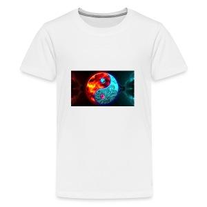 Bleu rouge - T-shirt Premium Ado