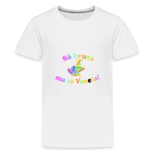mi sò veneta - Maglietta Premium per ragazzi
