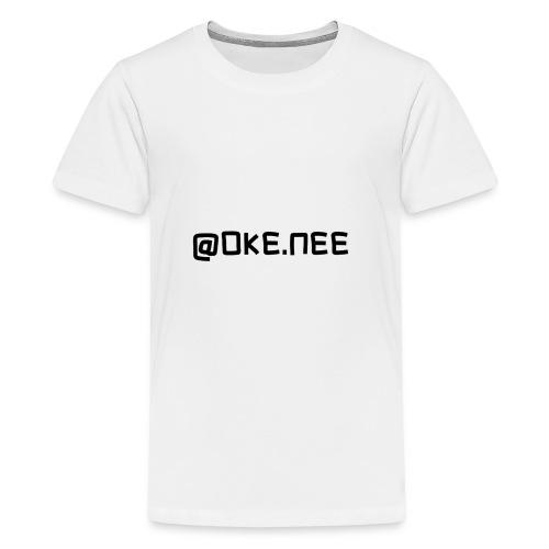 OKE_NEE-png - Teenager Premium T-shirt