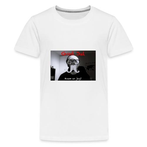 Julekalender - Premium T-skjorte for tenåringer