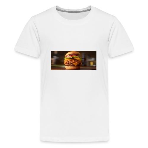 Burger - Teenager premium T-shirt