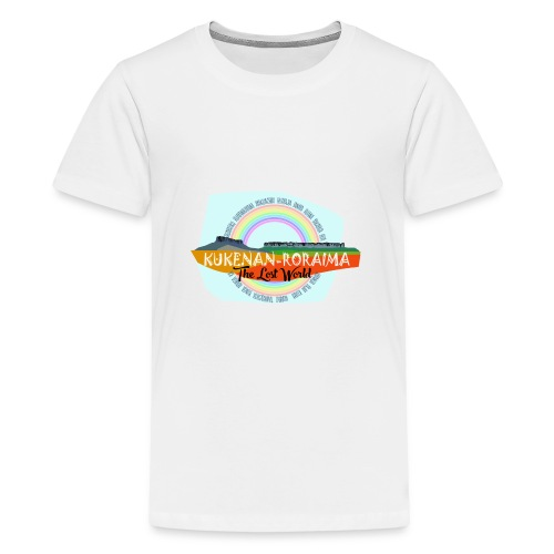 Roraima and Kukenan, The Lost World - Camiseta premium adolescente