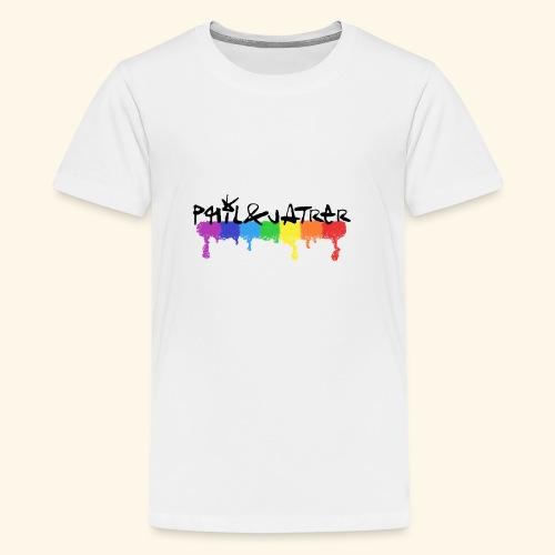 Rainbow Collection by Phil&Jatrer - Teenager Premium T-Shirt