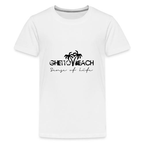 Ghetto Beach Logo - Teenager Premium T-Shirt