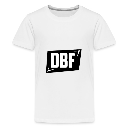 DBF Logo Text - Teenage Premium T-Shirt