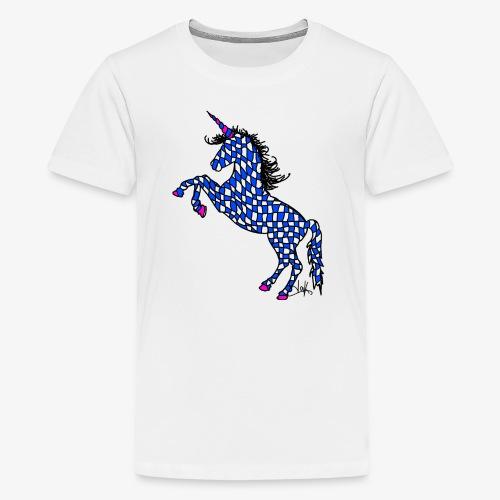 Bavarian Unicorn - Teenager Premium T-Shirt