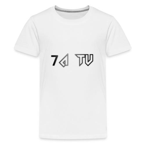 7A TV - Teenage Premium T-Shirt