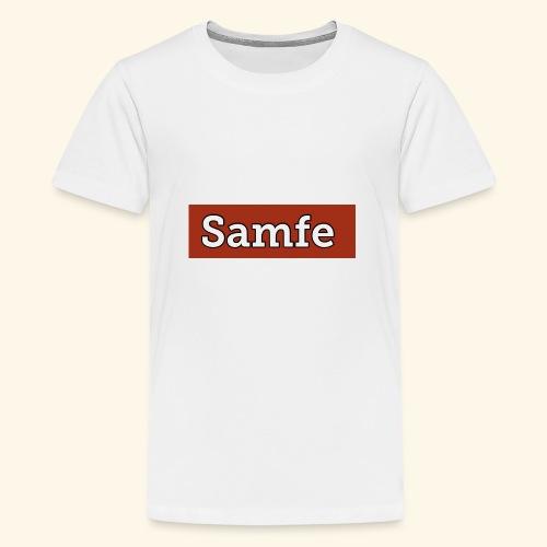 Samfe - Premium-T-shirt tonåring