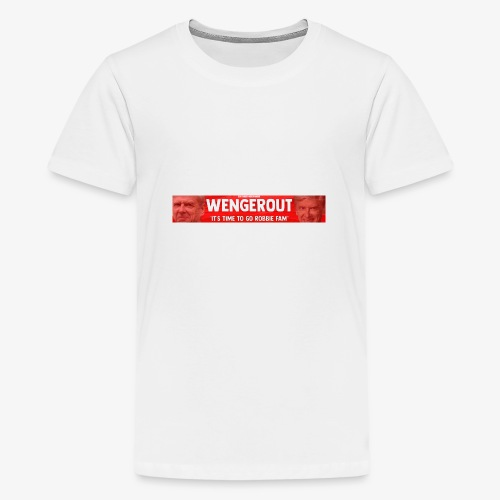 Wenger Out - Teenage Premium T-Shirt