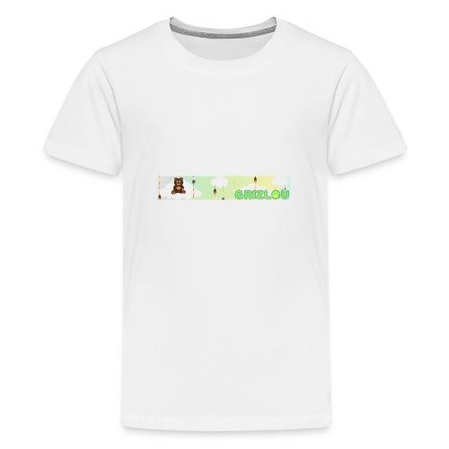 Naissance de GRIZLOU - T-shirt Premium Ado