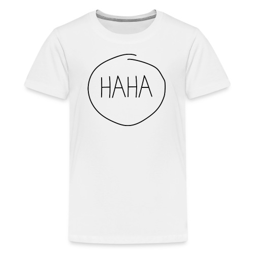 H A H A - imperfect circle - Teenager Premium T-shirt