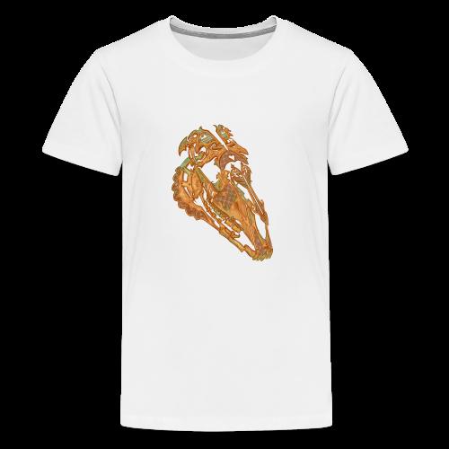 Crâne Dentelle - T-shirt Premium Ado