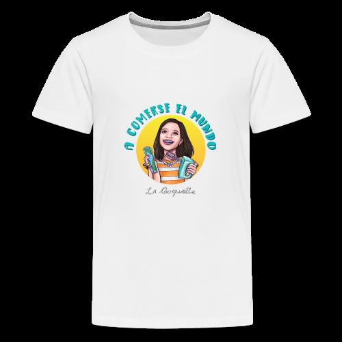 La Cooquette Mundo - Camiseta premium adolescente