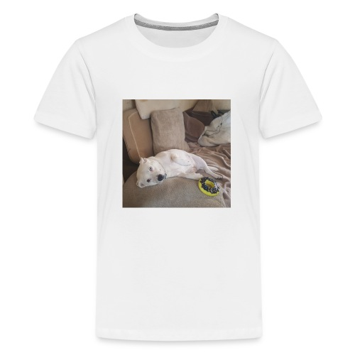 dog life - Teenage Premium T-Shirt