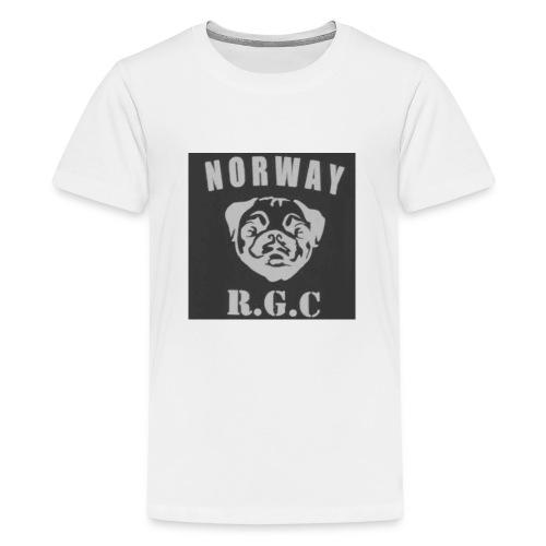 rgc hovedmerke - Premium T-skjorte for tenåringer