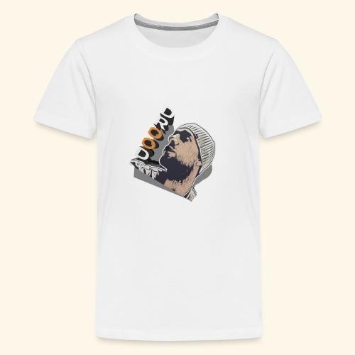 DroodlocksTV Face 3D - Teenager Premium T-Shirt