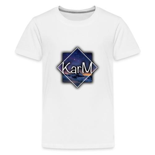 KarM Logo - Premium T-skjorte for tenåringer
