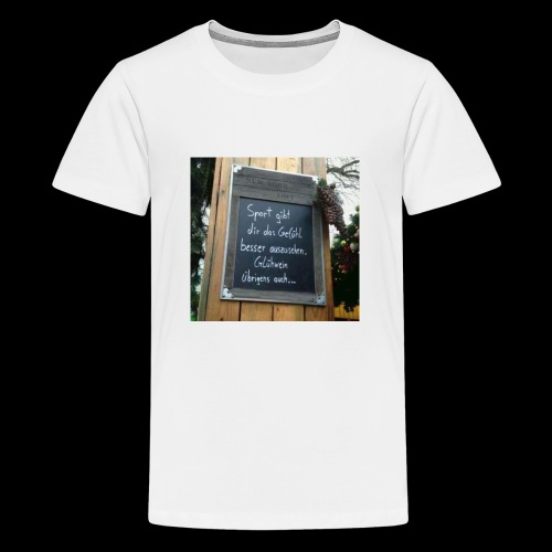 Spruch t-shirt - Teenager Premium T-Shirt