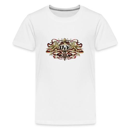 DVE Logo 01 - Das Wappentier - Teenager Premium T-Shirt