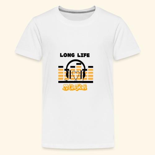 MusicFan - Teenager Premium T-Shirt
