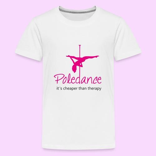 Poledance - Teenager Premium T-Shirt
