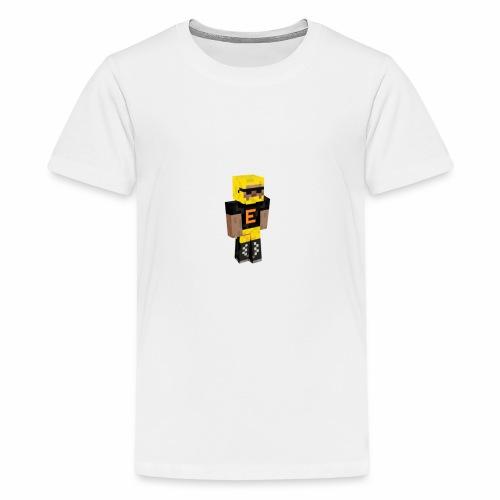 Minecraft gubben - Premium-T-shirt tonåring