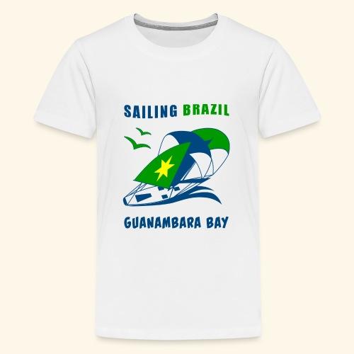 Sailing Brazil - Teenage Premium T-Shirt