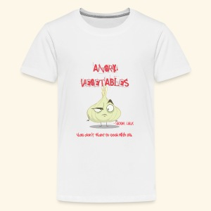 Sardonic Garlic - Teenage Premium T-Shirt