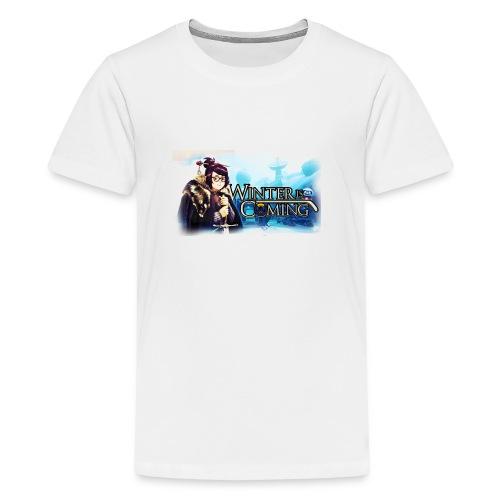 Overwatch and GameOfThrones Fusion - Teenage Premium T-Shirt