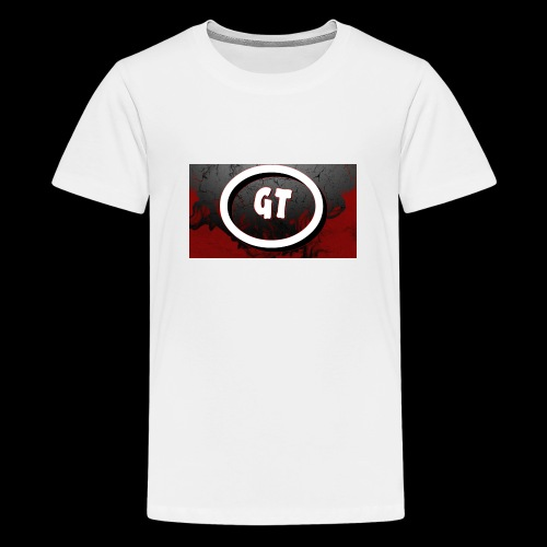 New youtube logo - Teenage Premium T-Shirt