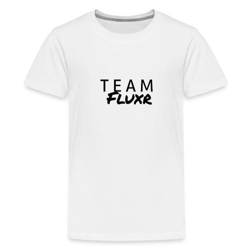 Team Fluxr - Premium-T-shirt tonåring