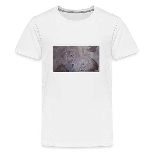 perfect pink rose's - Teenage Premium T-Shirt