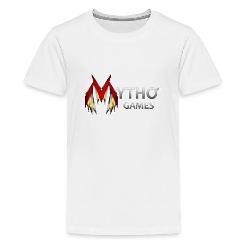 Transparent Logo - Teenage Premium T-Shirt