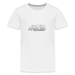 MZB Logo Design For Merch - Teenage Premium T-Shirt