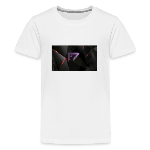 f7Logo - Teenage Premium T-Shirt