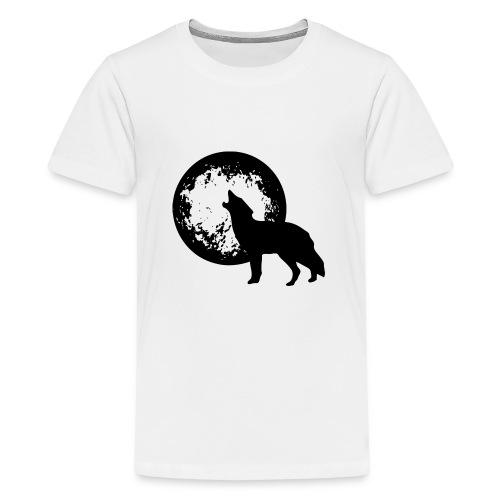 howling 160038 1280 - Teenager Premium T-Shirt