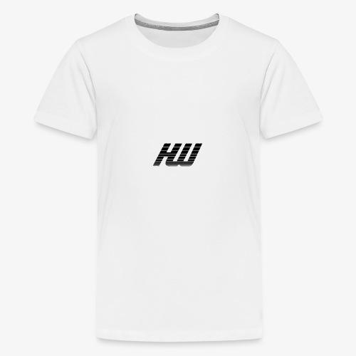 striped - Teenage Premium T-Shirt
